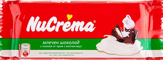 NuCrema Milky Chocolate