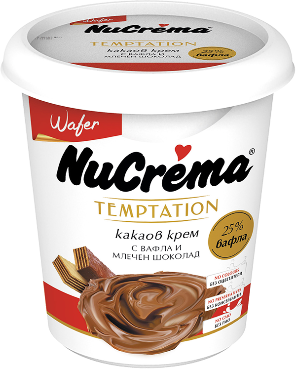 Nucrema Temptation Wafer